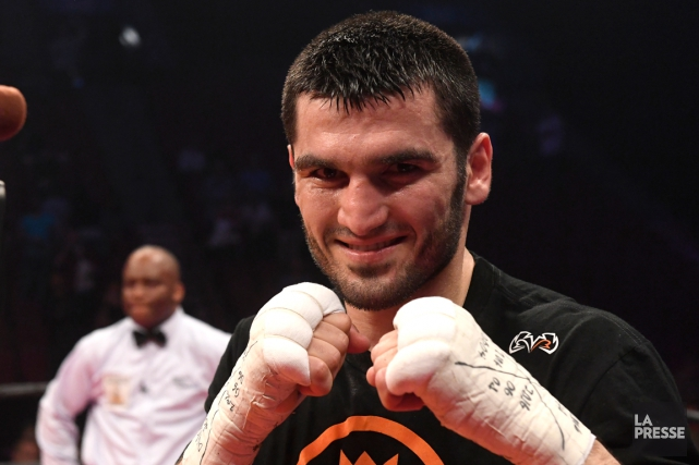 Artur Beterbiev... (Photo Bernard Brault, archives La Presse)