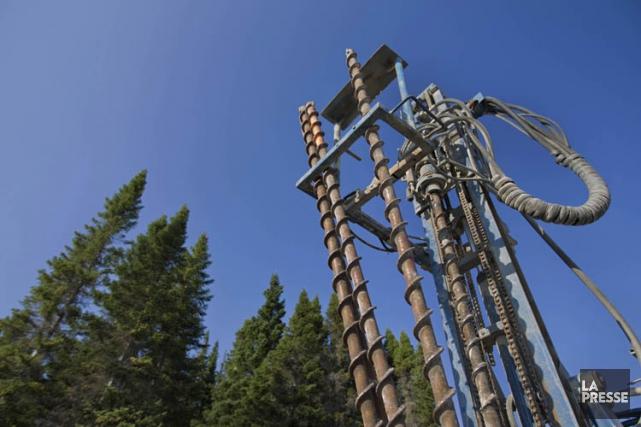 Trois forages par fracturation hydraulique devront être menés... (PHOTO IVANOH DEMERS, LA PRESSE)
