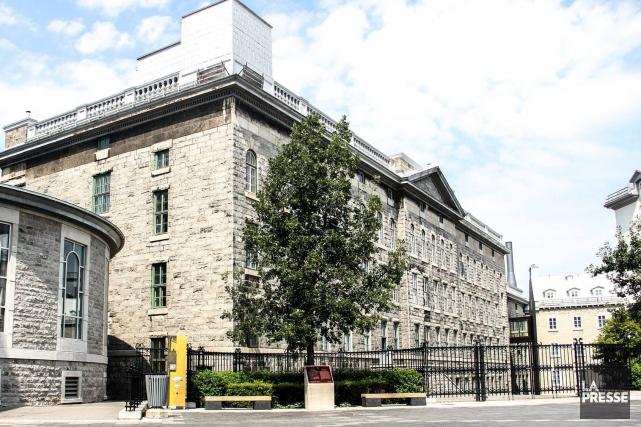 Le Collège François-de-Laval, anciennement le Petit séminaire de... (Tirée de Facebook)
