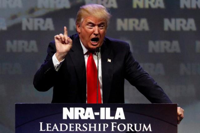 Donald Trump a été invité à la conférence... (PHOTO REUTERS)