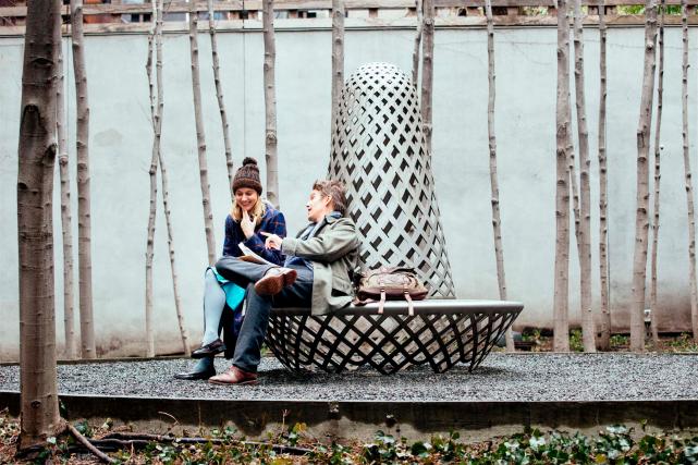 Greta Gerwig et Ethan Hawke dans Maggie's Plan... (Photo fournie par Métropole Films)