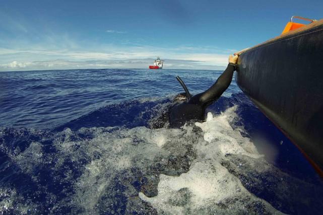 La compagnie française Deep Ocean Search a mené... (ARCHIVES REUTERS)