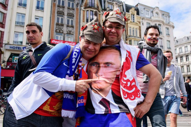 L'interpellation de 43 supporters russes, dont onze ont... (PHOTO REUTERS)