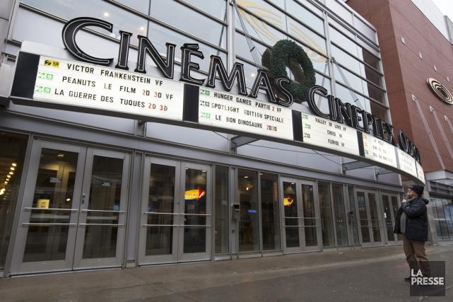 En 2015, les cinémas sur l'île de Montréal... (archives La Presse)