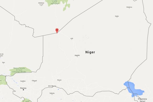 Les cadavres de 34 migrants, dont 20 enfants, ont été retrouvés la semaine... (CAPTURE D'ÉCRAN GOOGLE MAPS)
