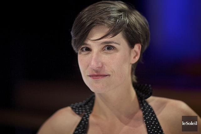 La comédienne Salomé Corbo fait partie de la... (Photothèque Le Soleil)
