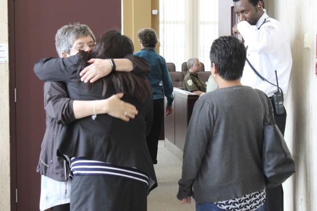 La mère de Nadeige Guanish, Alanis Vollant, reçoit... (Collaboration spéciale Fanny Lévesque)