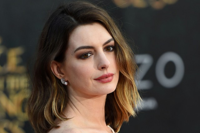 Anne Hathaway... (PHOTO AFP)