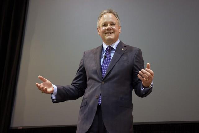 Le gouverneur de la Banque du Canada, Stephen Poloz, a affirmé que l'économie... (Photo Justin Tang, La Presse Canadienne)