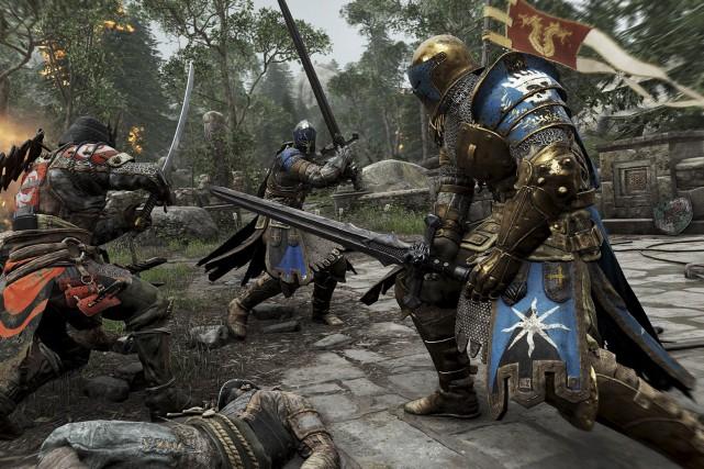 For Honor est un jeu de combat à... (Ubisoft)