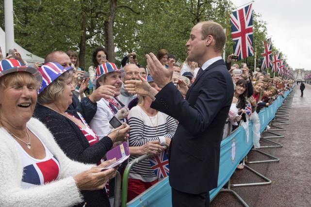Le Prince William lors du 90e anniversaire de... (AP, Arthur Edwards)