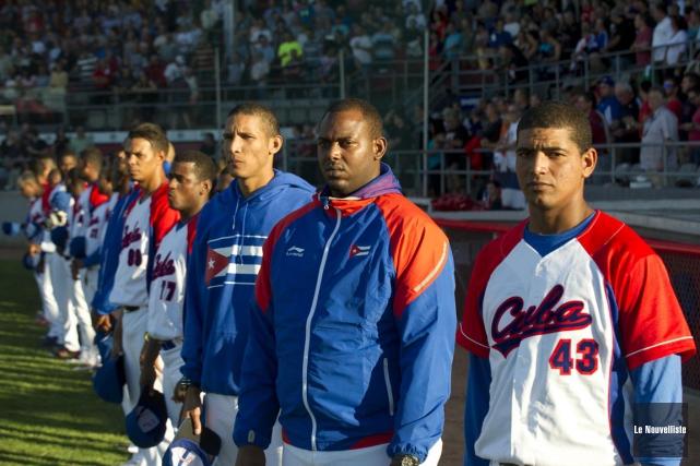 Au sein de l'équipe cubaine, les nombreuses défections... (Sylvain Mayer, Le Nouvelliste)