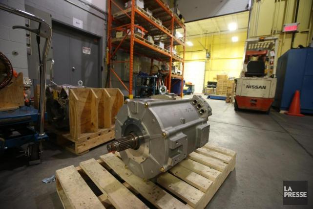 Un moteur de la série SUMO MD, pour... (PHOTO Martin Chamberland, LA PRESSE)