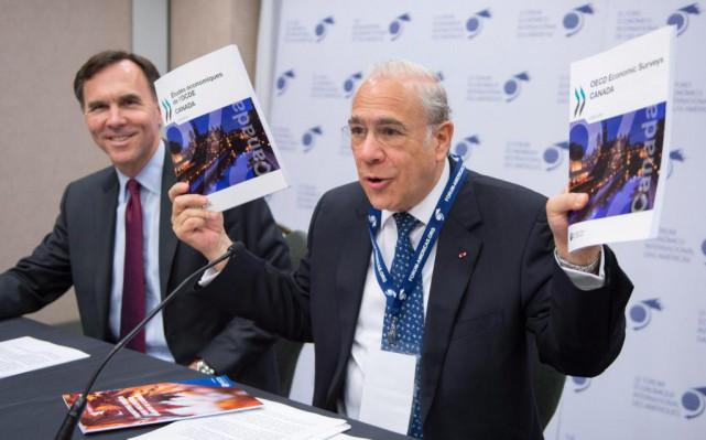 Le secrétaire de l'Organisation de coopération et de... (photo paul chiasson, la presse canadienne)