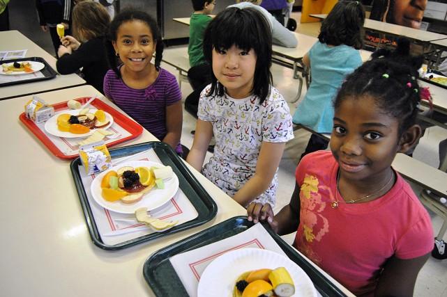Le nombre d'écoles bénéficiant du Club des petits... (Photo fournie par le Club des petits déjeuners)
