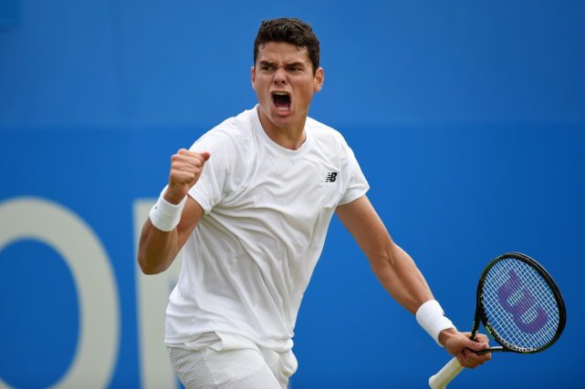 Milos Raonic... (Photo Tony O'Brien, Reuters)