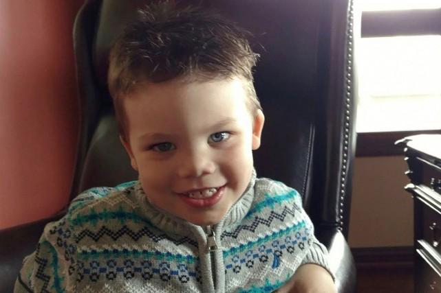 Lane Graves, 2 ans, a été happé et... (AFP)