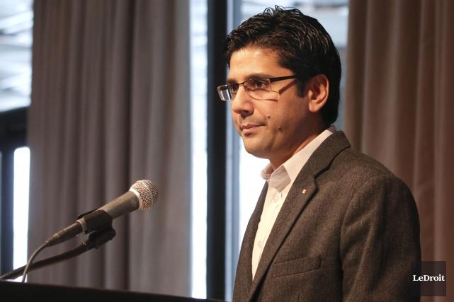 Le procureur général de l'Ontario, Yasir Naqvi... (Patrick Woodbury, Archives Le Droit)