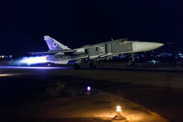 La Russie et les États-Unis ne se coordonnent... (ARCHIVES AP)