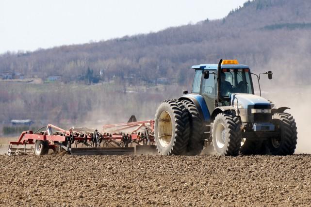 L'agriculture québécoise repose à 34 % sur le...