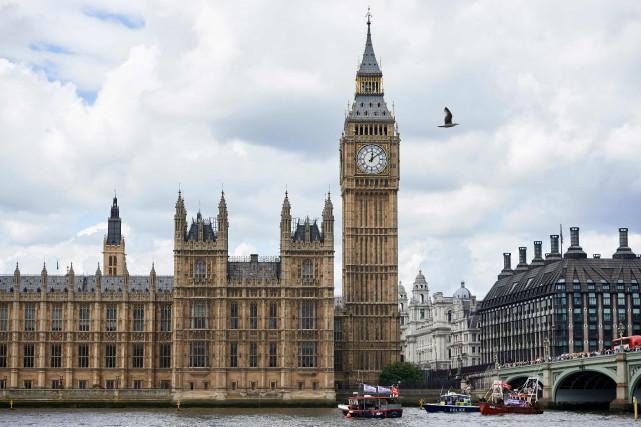 À Londres, le baril de Brent de la... (Photo AFP)