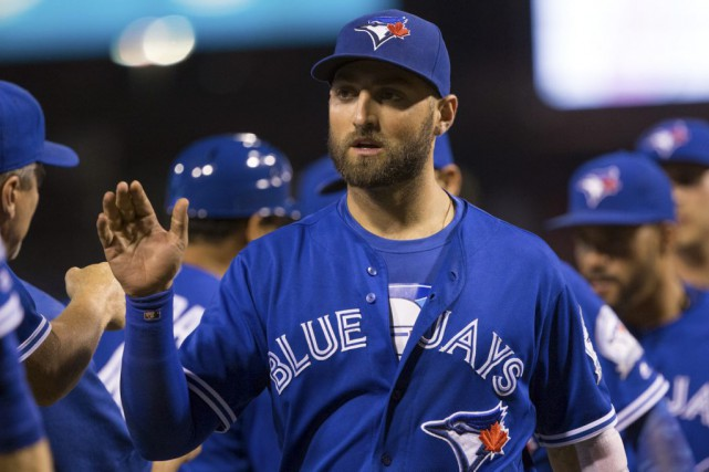 Kevin Pillar a réussi deux circuits tandis qu'Edwin... (Associated Press)
