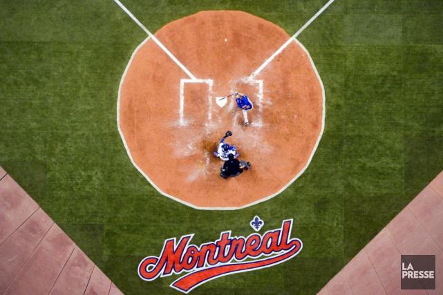 Les Blue Jays de Toronto disputeront deux matchs préparatoires les 26 et 27... (Photo Bernard Brault, archives La Presse)