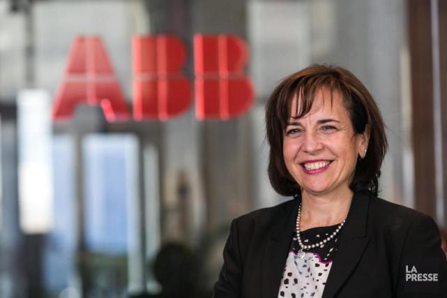 Nathalie Pilon est présidente-directrice générale d'ABB Canada. Elle... (PHOTO HUGO-SÉBASTIEN AUBERT, ARCHIVES LA PRESSE)