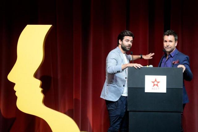 Jean-Philippe Wauthier et Éric Salvail animeront le prochain... (La Presse, Bernard Brault)