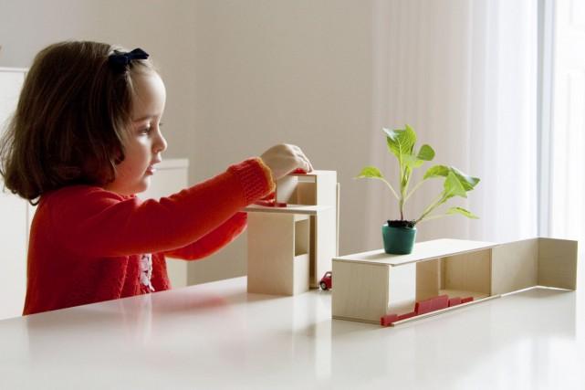 La Mini Box est un jeu de construction... (Fournie par Mini Archi)