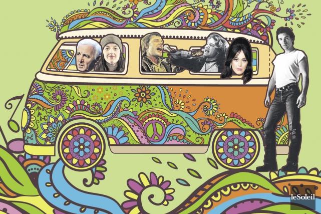 Qu'est-ce qu'un road trip sans la musique ? Voici les suggestions de... (Infographie Le Soleil)