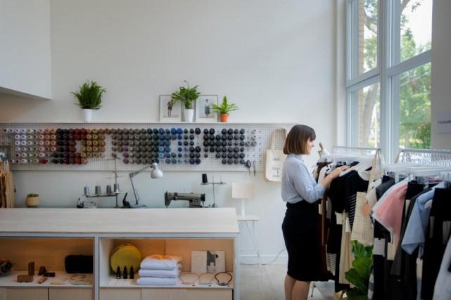 Une première boutique Betina Lou a ouvert ses... (PHOTO MARCO CAMPANOZZI, LA PRESSE)