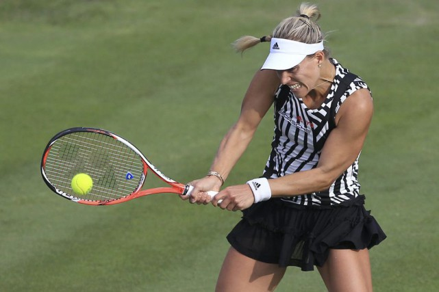 Angelique Kerber... (PHOTO Tim Goode, AP)