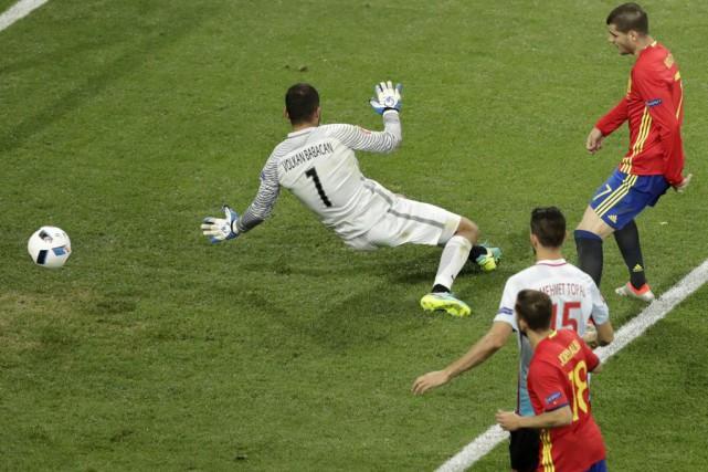 Alvaro Morata... (PHOTO Ariel Schalit, AP)