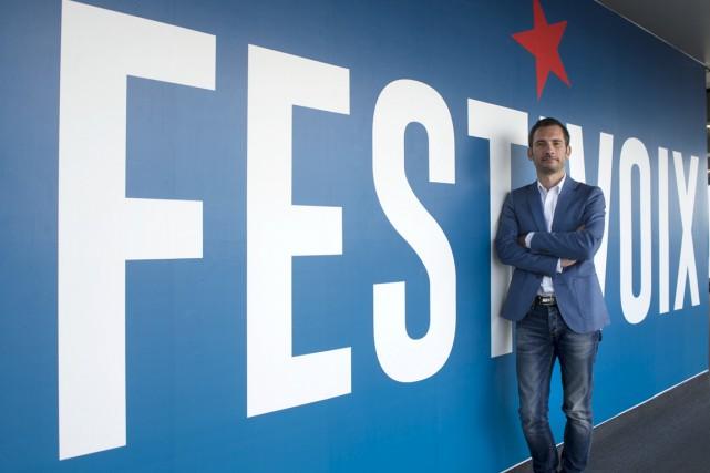 Le directeur général du FestiVoix, Thomas Grégoire.... (Stéphane Lessard)