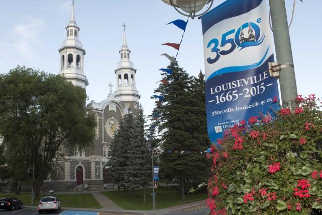Louiseville a fêté ses 350 ans en 2015.... (Stéphane Lessard)