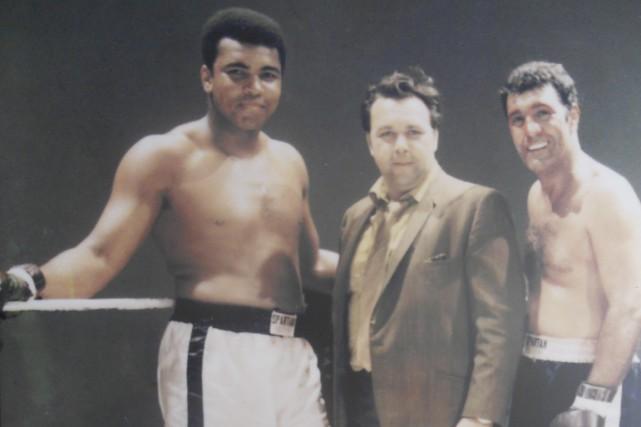 Mohamed Ali, Louie Tillet et Rocky Marciano....