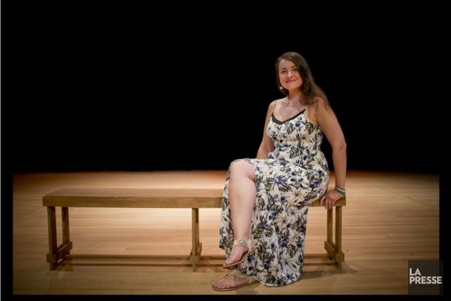 France Bellemare, la jeune soprano originaire de Saint-Félicien,... (Archives La Presse, David Boily)
