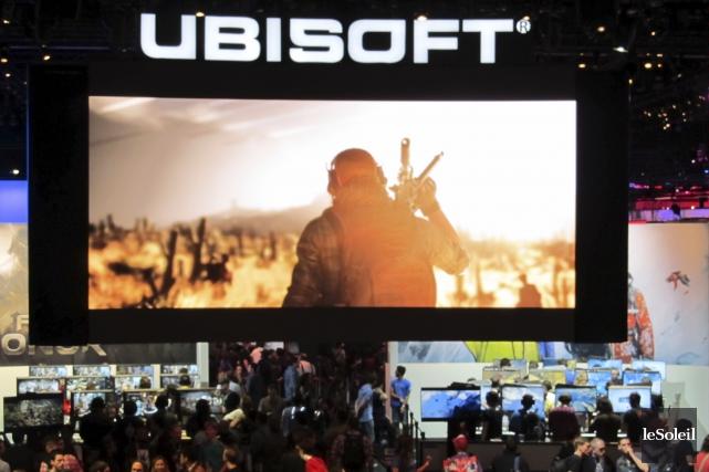 Ubisoft au Québec a été à l'origine de... (Le Soleil, Yves Therrien)