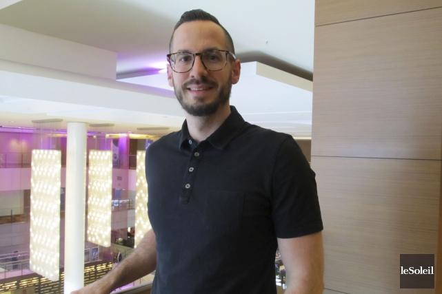 Jeff Rivait, directeur du marketing pour la plateforme... (Le Soleil, Yves Therrien)
