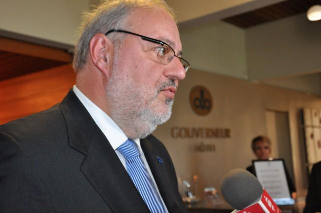 Le ministre de l'Énergie et des Ressources naturelles,... (Martin Bélanger)