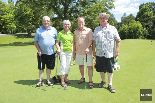 Le tournoi de golf a pu compter sur... (Martin Brunette, LeDroit)