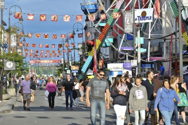 Le centre-ville de Trois-Rivières s'animera tout l'été.... (Archives Le Nouvelliste)