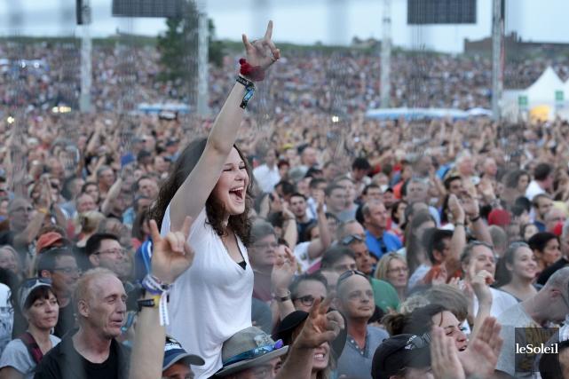Le budget du Festival d'été est estimé à... (Photothèque Le Soleil, Jean-Marie Villeneuve)