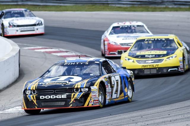 Lors de la première épreuve de la saison,... (archives NASCAR)