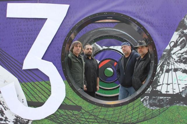 Les quatre membres de Groovy Aardvark qui seront... (PHOTO FOURNIE PAR LES FRANCOFOLIES)