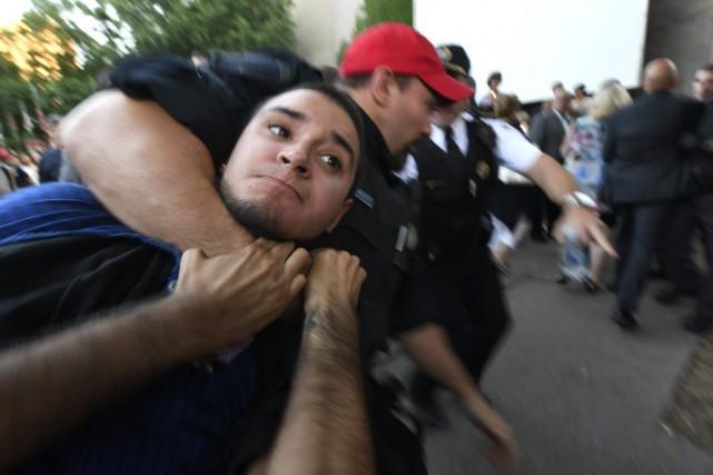 Esteban Torres aurait profité d'un accès rapproché à... (Photo Bernard Brault, archives La Presse)