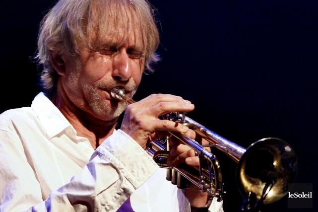 Le trompettiste Erik Truffaz, qui avait livré une... (Photothèque Le Soleil, Yan Doublet)