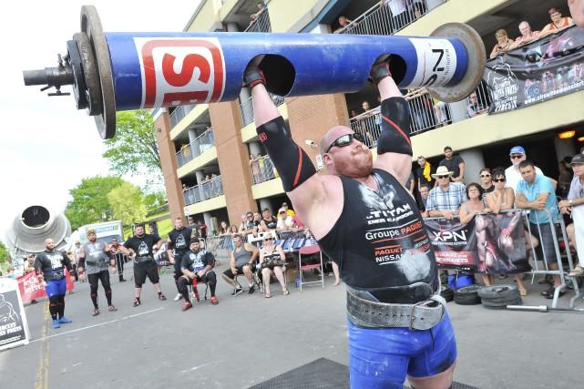 Le champion de l'étape almatoise du circuit canadien... (Photo Le Progrès-dimanche, Gimmy Desbiens)