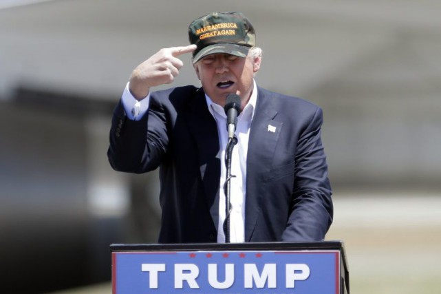 Donald Trump le 3 juin dernier.... (Photo Rich Pedroncelli, AP)